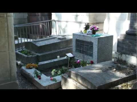 Grób Jima Morrisona (cmentarz Père-Lachaise, Paryż)