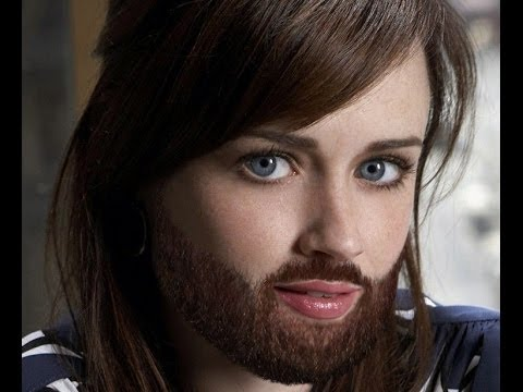 Celebrity Women With Beards Famous Women Sprout Beards