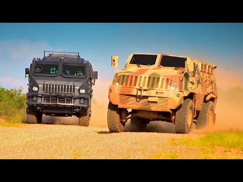 Armoured Vehicle Race - Fifth Gear