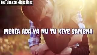 New Punjabi Romantic Song Whatsapp Status Video 2019 | Punjabi Song | Lyrics Video | Whatsapp Video