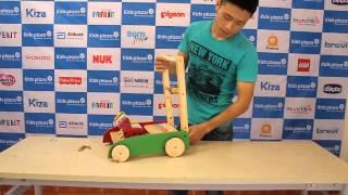 Giới thiệu & hướng dẫn lắp đặt xe tập đi IQ Toys hình con ngựa - KidsPlaza.vn