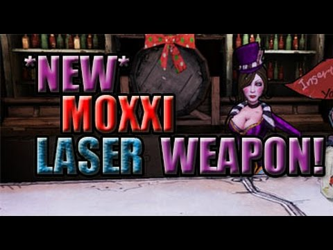 *NEW* Moxxi Laser Weapon in Borderlands: The Pre-Sequel!