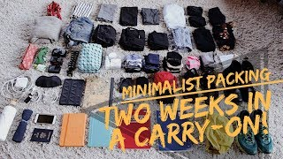 Two Weeks in a Carry-On   Pack Like a Minimalist