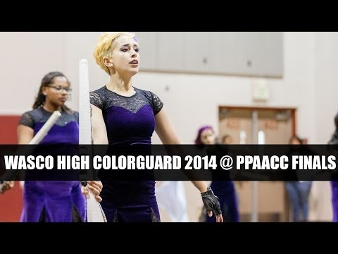 Wasco High School Colorguard 2014 @ PPAACC Finals