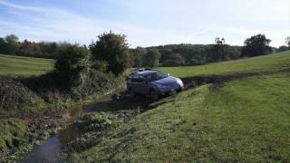 2012 Subaru Foresters and Outbacks off road amazing wheel spin out of field