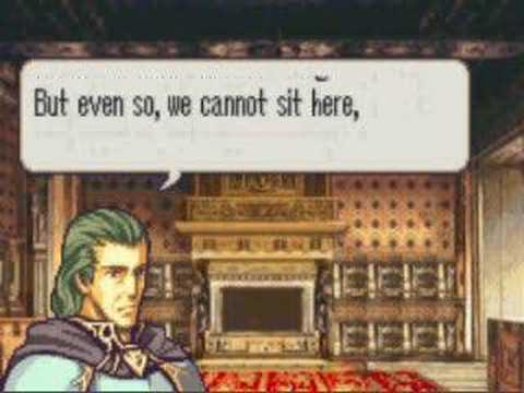 Let's Play Fire Emblem Sacred Stones 27 - Reading Rainbow