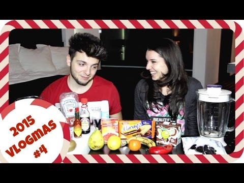 Smoothie Challenge with inStanT | Vlogmas #4