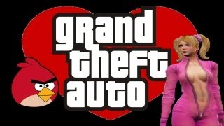 Angry birds y la rubia traviesa | GTA IV Multiplayer
