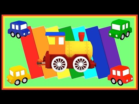 Magic Train PUZZLE Compilation - Cartoon Cars Videos For Kids. Cartoons For Children. Kids Animation