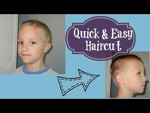 Quick & Easy Hair Cut for Boys