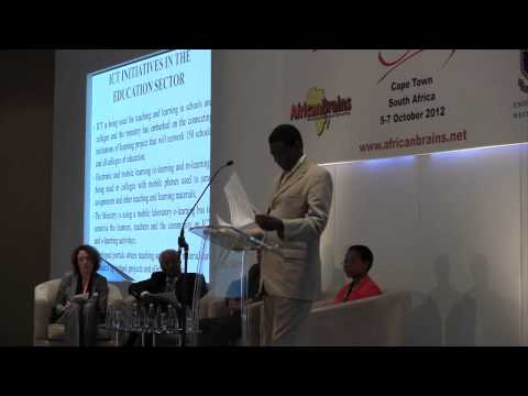 Hon. David Mabumba MP - Deputy Minister of Education, Zambia - Innovation Africa Summit 2012