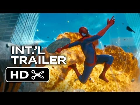 The Amazing Spider-Man 2 Official International Trailer #1 (2014) - Andrew Garfield Movie HD