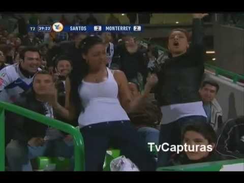 Chica sexy Final Santos Monterrey TSM