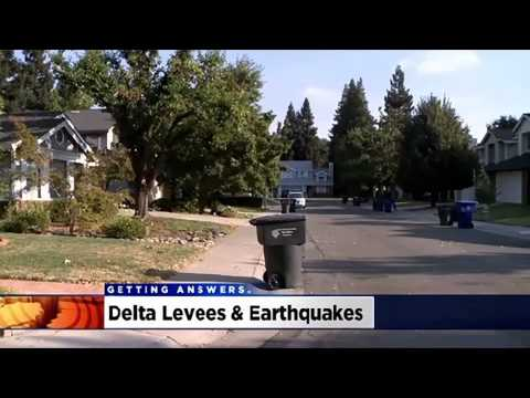 Napa Earthquake Raises Concerns About Sacramento's Levees - Darren Suen