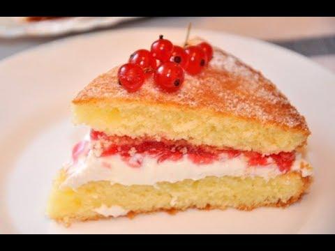 VICTORIA CAKE recipe / DESSERT recipes / Easy Cooking thumbnail