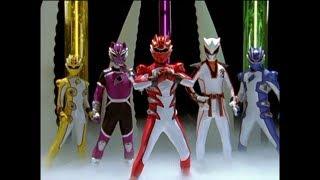 Power Rangers Jungle Fury - Race to the Nexus - Megazord Fight 1 (Episode 21)