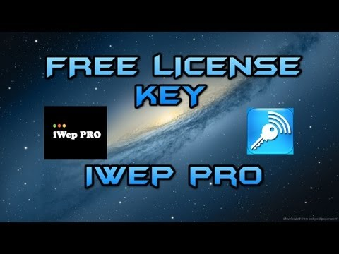 How to get the iWepPro License for Free!