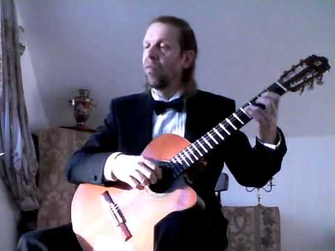 0 Sleepers, Awake by J S Bach, for Classical guitar  , 