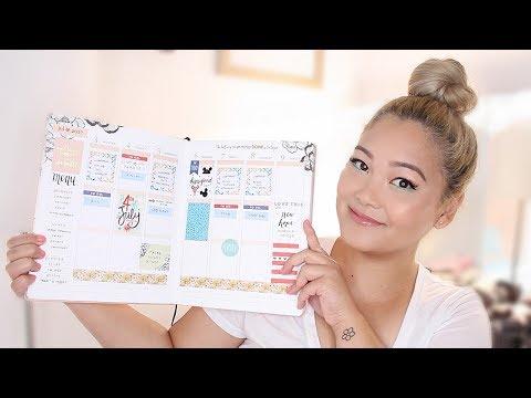 Plan With Me + NEW Erin Condren Planner Review