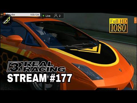 My Real Racing 3 Stream #177 - GAMEPLAY - WALKTHROUGH - ENGLISH/HINDI/TELUGU