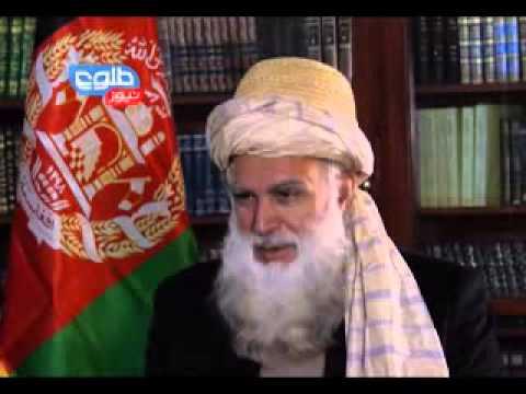 TOLOnews Exclusive Interview with Abdul Rab Rasul Sayyaf / گفتگوی ویژه با رسول سیاف