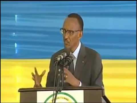PAUL KAGAME se moque du CONGO et  de la communauté internationale (ANGLAIS)