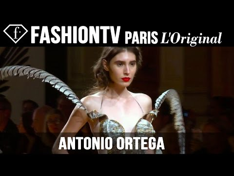 Antonio Ortega Haute Couture Fall/Winter 2014-15 | Paris Couture Fashion Week | FashionTV