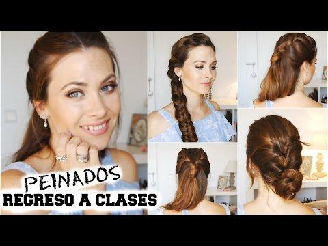 Peinados fáciles y rápidos para la escuela/trabajo/fiestas! |Lizy P School/Work Hairstyles!