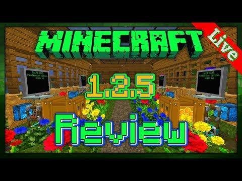 ★ ► Redled`s Vintage Minecraft Technik 1.2.5 World Review - [MC Version 1.2.5 Modded!] [Live] ◄ ★