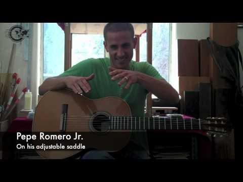 Luthier Pepe Romero Jr.