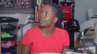 Stupid answer for stupid question. Kansiime Anne. African Comedy
