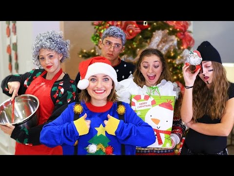 5 Types of People on Christmas Day  | Brooklyn and Bailey