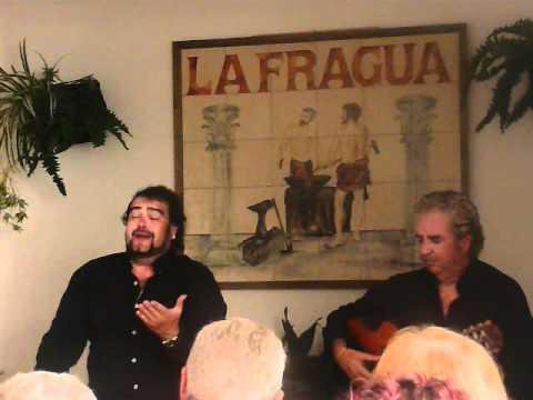 Miguel de Tena y Paco Cortés. Fandangos de Vallejo.