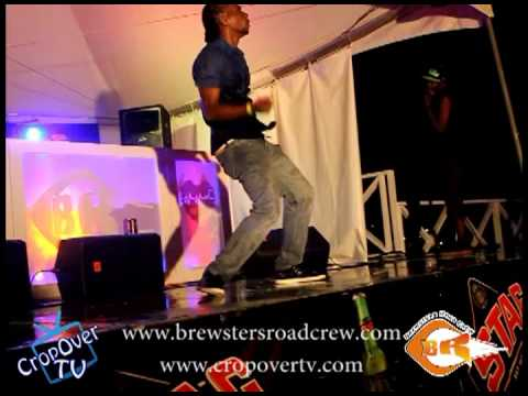 Lil Rick Performing Jones N Wuk Up & Work At Brewster's Road Crew Torch Fete - Crop Over 2012