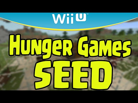 Minecraft Wii U Battle Mode Hunger Games / Survival Games Seed Showcase Review