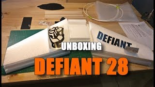 Unboxing Defiant 28 - Wing FPV
