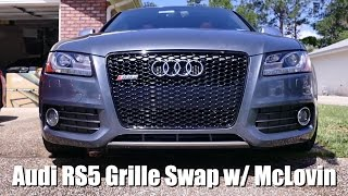 Audi S5/RS5 Grille Swap