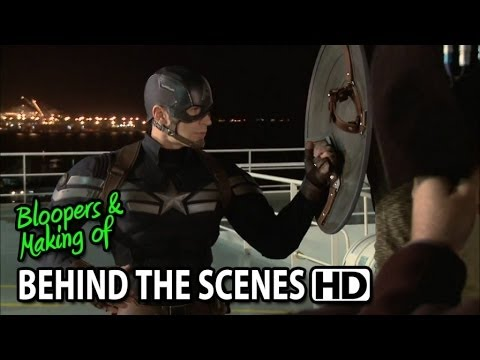 Captain America: The Winter Soldier (2014) Making of & Behind the Scenes (Part1/3)