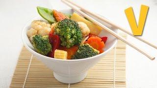 Chinese vegetable stir-fry   The Vegan Corner