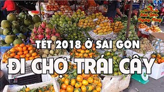"""Chợ Tết Sài Gòn thăm chợ Nguyễn Tri Phương Quận 10 để """"cảm nhận"""" không khí Têt Vietnam"""