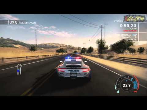 Need for Speed Hot Pursuit Xbox 360 - Aston Martin One-77 Cop Car