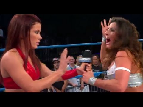 TNA Impact Wrestling Review 6/5/14 Psycho Brittany - MVP injured Highlights