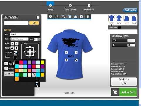 Create Own T Shirt Design Software Long Sweater Jacket