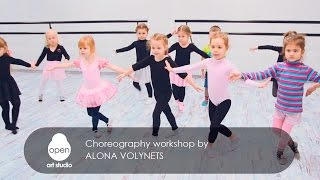 Сhoreography workshop by Alona Volynets - Open Art Studio