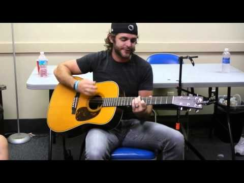 Thomas Rhett Back Stage In West Palm Beach video