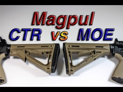 Magpul MOE vs CTR Stock Comparison