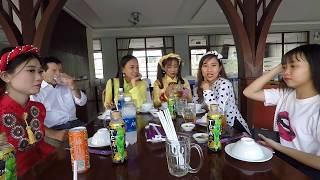 Đi Nhà Hàng Nổi Bến Tre ăn Bông Bần - Hương vị đồng quê