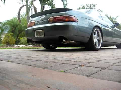 Lexus SC 300 with 1Jz GTE Magnaflow Race Series Exhaust sound clip Video