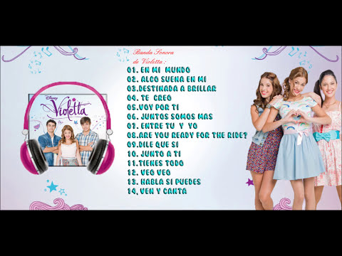 Violetta CD - Preview + Download On ITunes