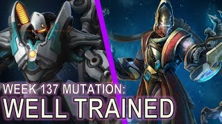 Starcraft II: Well Trained [Fighting Avenger Broodlords]
